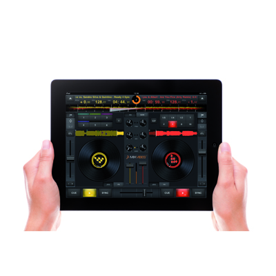 MixVibes CrossDJ for iPad