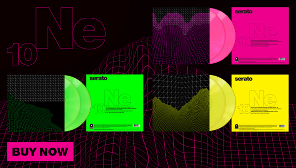 Serato Neon Control Vinyl