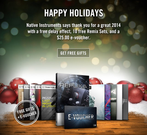 Native Instruments Happy Holidays & More [Video]