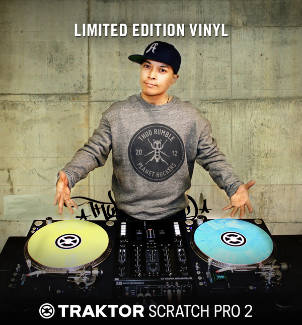 New TRAKTOR CONTROL VINYL from QBert & DJ Craze
