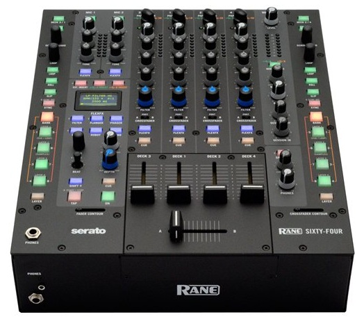 Rane Announces the Sixty-Four Serato DJ Mixer