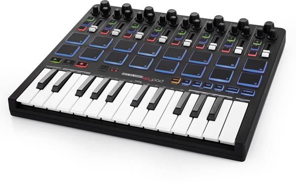 Reloop Keypad Compact DAW Workstation