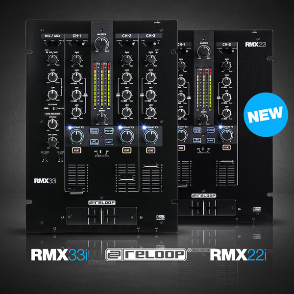 Reloop RMX-22i & RMX-33i Mixers [Video]