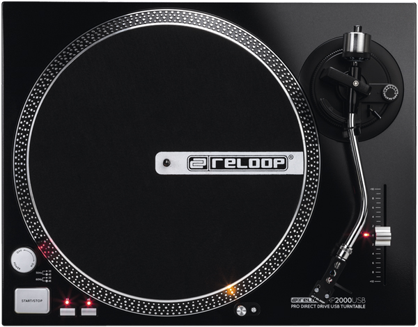 Entry-Level Reloop RP-2000USB Turntable [Video]