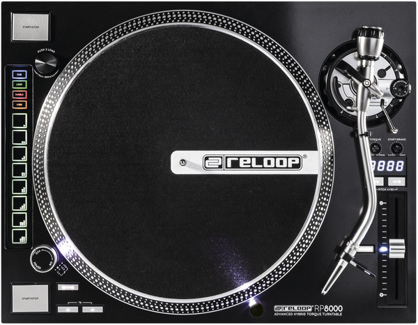 Reloop RP-8000 Professional MIDI Turntable Unboxing & First Impressions [Video]