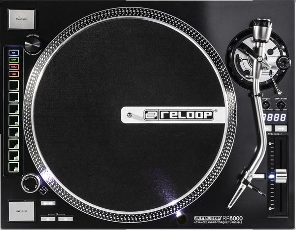 Reloop RP-8000 Hybrid MIDI Turntable