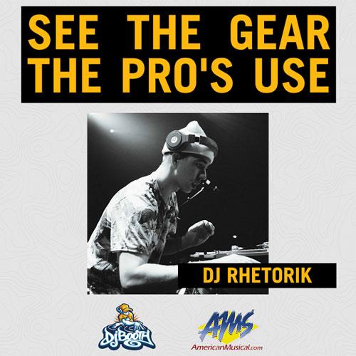 Pro DJ Setups: DJ Rhetorik
