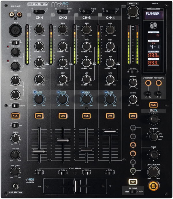 Reloop RMX-80 Mixer Announced