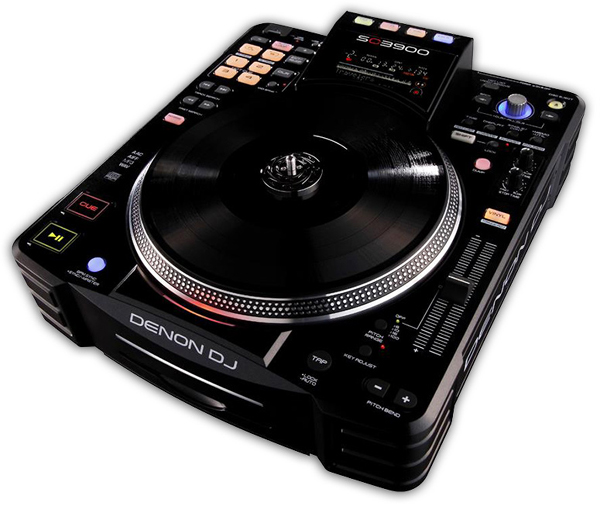 Denon DJ SC3900 Mutli-Media Player