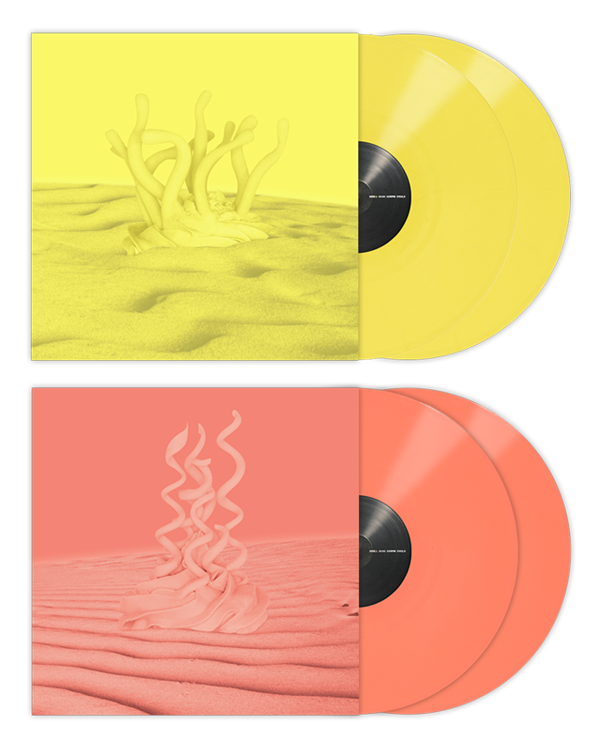 Out Now: Yellow & Coral Serato Control Vinyl