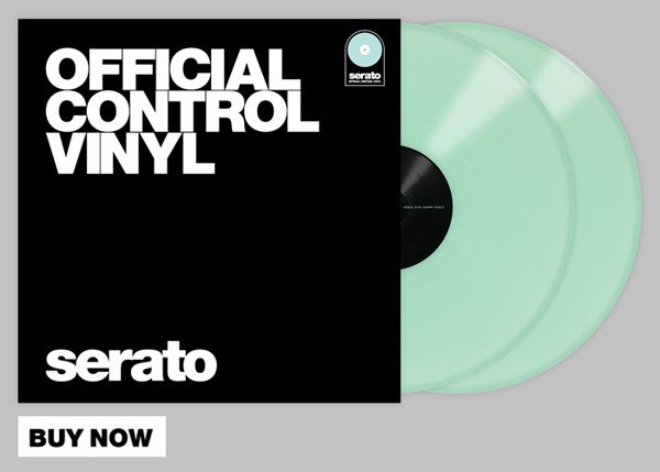 Now Available: Neon & Glow-in-the-Dark Serato Control Vinyl