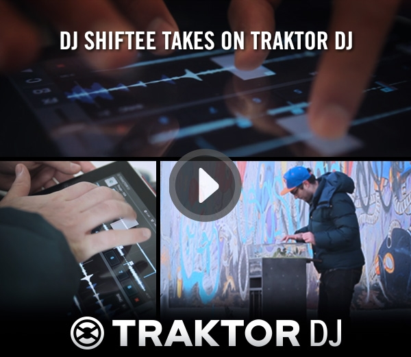 [Video] DJ Shiftee Takes on Traktor DJ