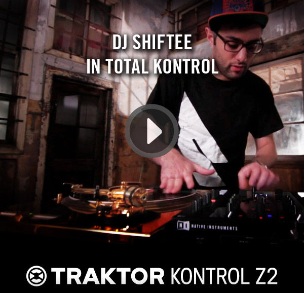 [Video] DJ Shiftee: Traktor Kontrol Z2 & Maschine Performance