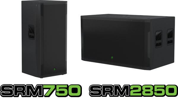 Mackie Dual-Woofer SRM750 and SRM2850 [Video]