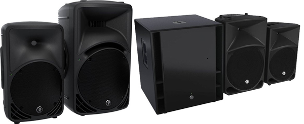 New Mackie SRM & Thump 1000W Speakers