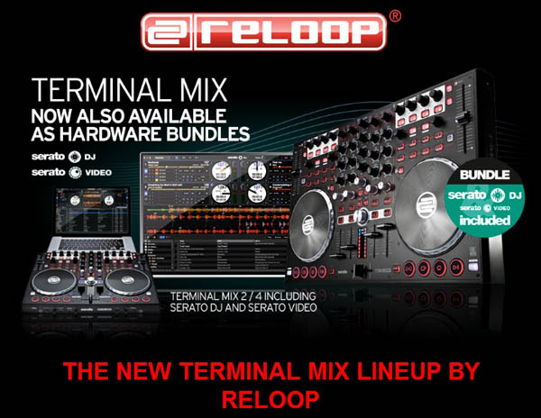Serato DJ Released for Reloop TM2 & TM4