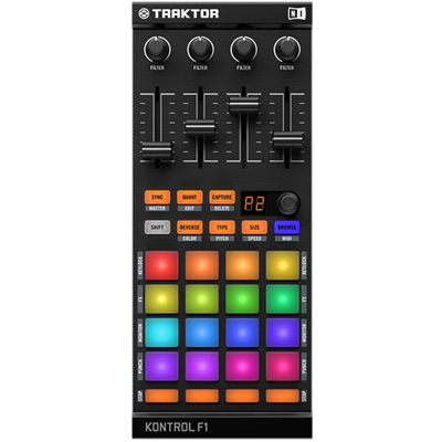 Traktor Kontrol F1 &amp; Traktor Pro 2.5