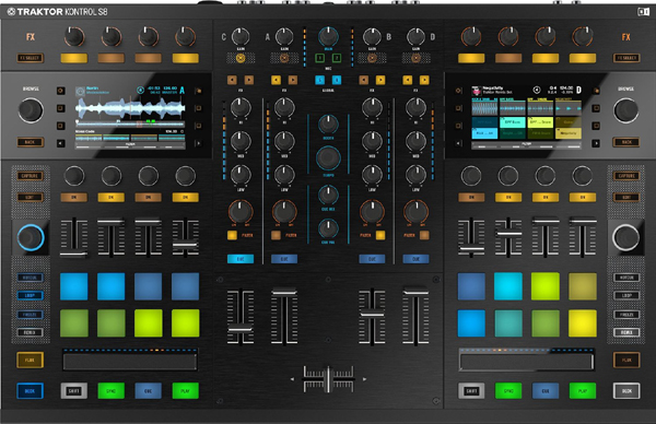 NI Traktor Kontrol S8 Preview [Video]