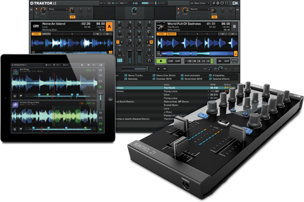 Introducing The Traktor Kontrol Z1