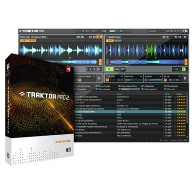 Native Instruments Traktor Pro 2 DJ Software