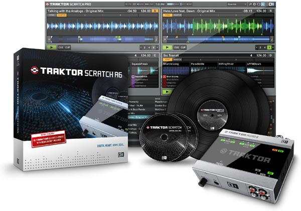 Traktor Scratch A6 Digital Vinyl System