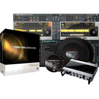 Native Instruments Traktor Scratch Pro 1