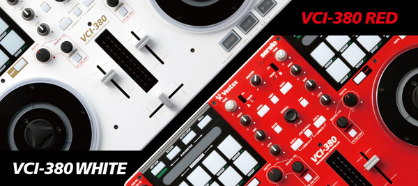 Vestax VCI-380 Now in Red or White