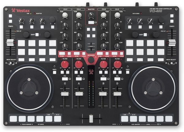 Vestax VCI-400 USB/MIDI DJ Controller