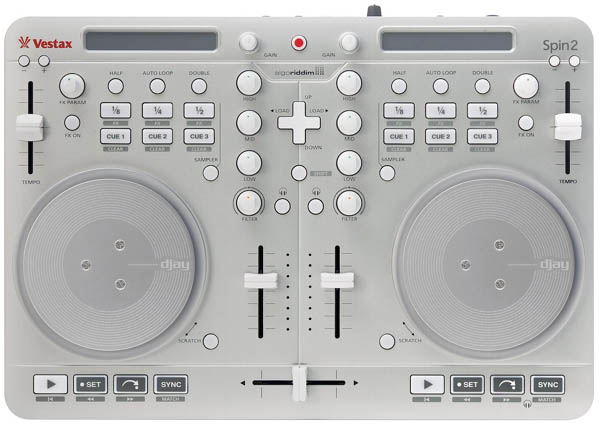 [Video] Vestax Spin2 DJ Controller Out Now