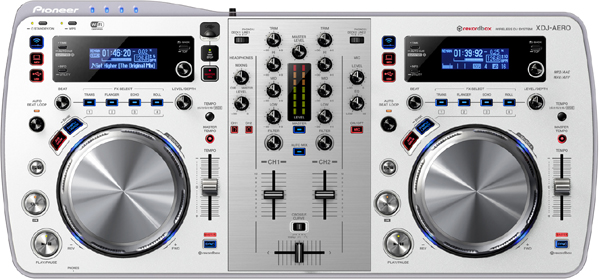 [NAMM 2013] Pioneer XDJ-AERO in Pearl White