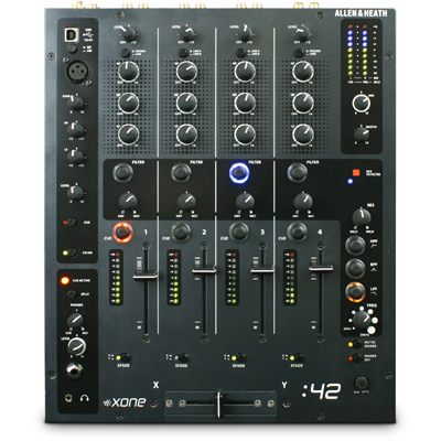 Allen and Heath Xone:42 Mixer