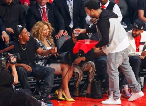 Drake Jay Z Beyonce All Star Game