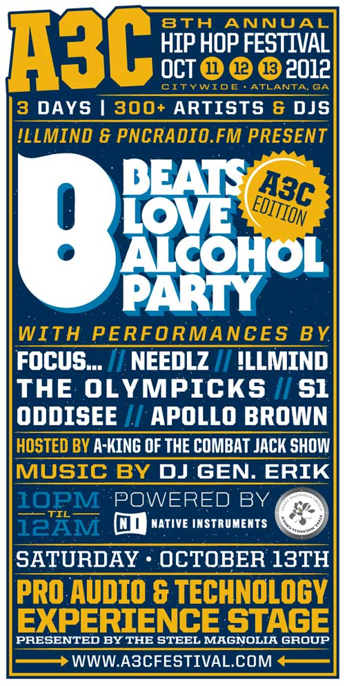 A3C Beats Love Alcohol