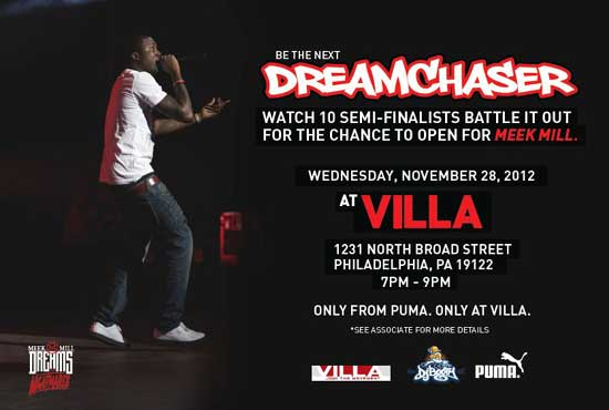 DJBooth Puma Villa Meek Mill Dreamchaser