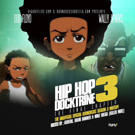 Boondocks Hip-Hop Doctrine 3 Mixtape Cover