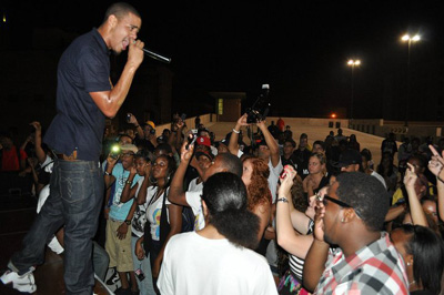 J. Cole Performing 2010