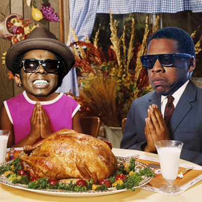 2014 Rap Albums as Thanksgiving Foods
