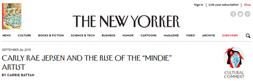 New Yorker Mindie
