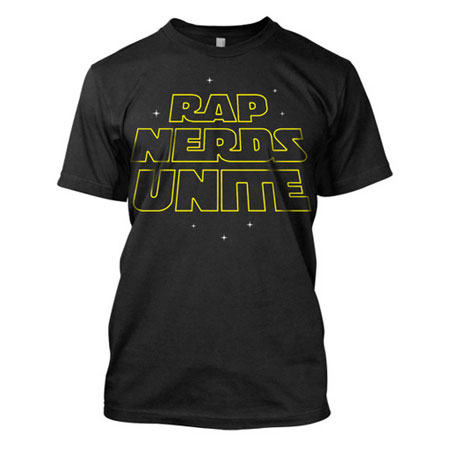 Rap Nerds Unite Rap Hip Hop Shirts