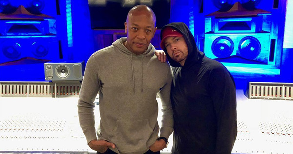 eminem returns to the studio with dr dre amp mike will made