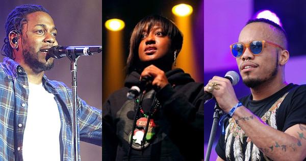 Imagining a Kendrick Lamar, Rapsody & Anderson .Paak Supergroup Pic