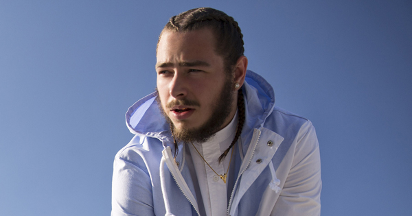 Post Malone Enters The Pink Starburst Stage Of His Career