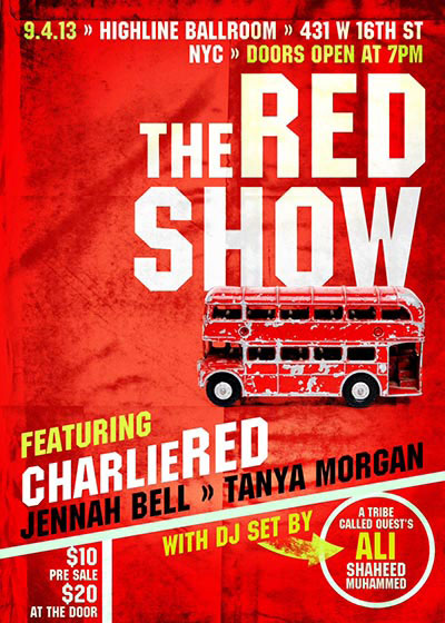 CharlieRed The Red Show