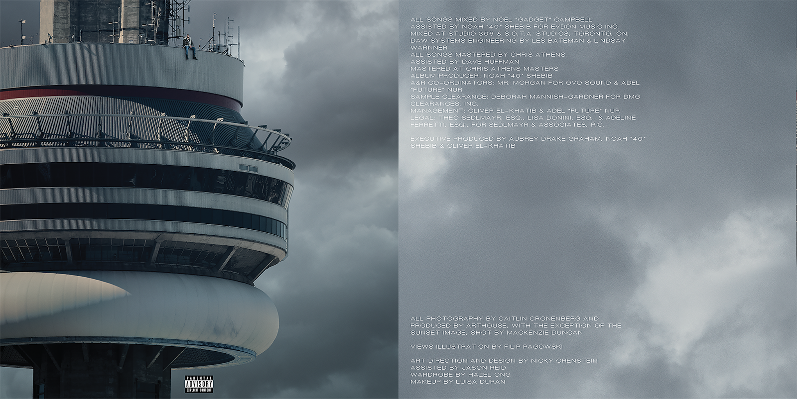 Views album credits