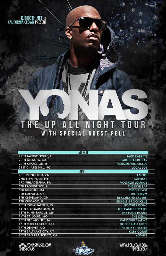 Yonas Tour Dates