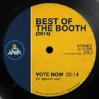The 2014 Best of the Booth Awards Song Nominees Artwork