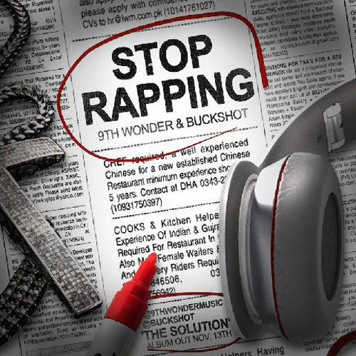 Stop Rapping Cover