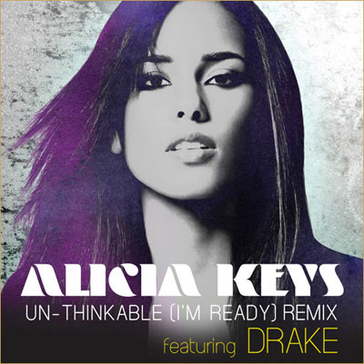 Alicia Keys - Un-Thinkable ft. Drake - (I'm Ready) Artwork