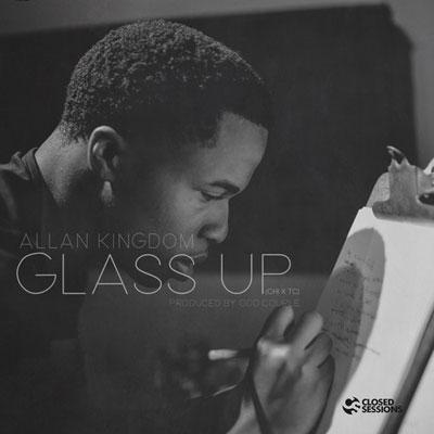Allan Kingdom x Closed Sessions - Glass Up Artwork