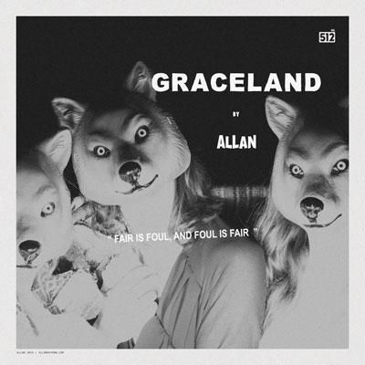 Allan Rayman - Graceland Artwork
